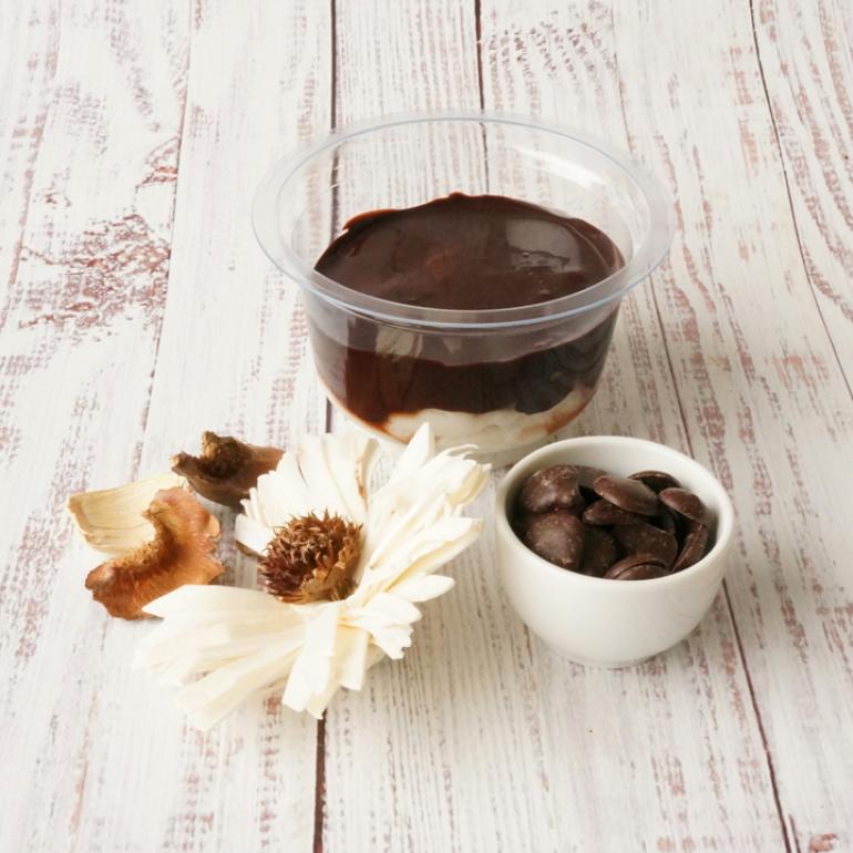 Csokis tápókapuding