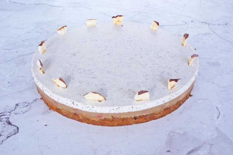 Almás-mákos torta (12 szelet)