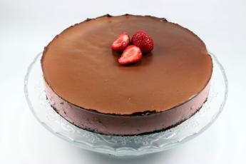 Csokis eperkrémtorta (10 szelet)