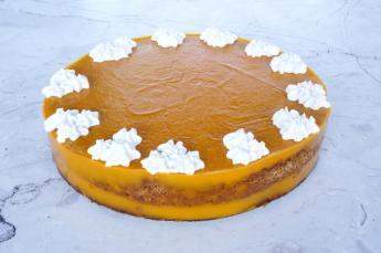 Mangó-kókusz torta (12 szelet)